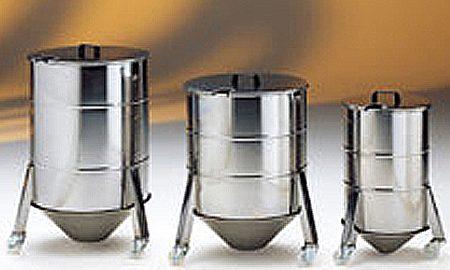 Material Bins & Mixers